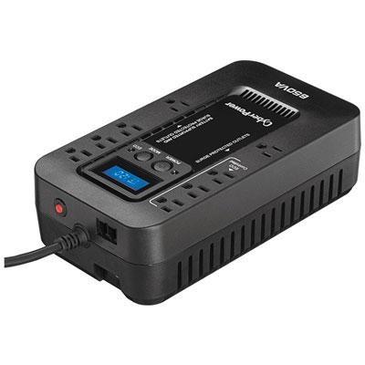 650VA Energy Efficient Uninterruptible Power Supply - EC650LCD