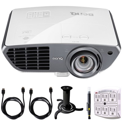 HT4050 2000 ANSI Lumens Full HD Home Theater Projector w/ Accessory Bundle