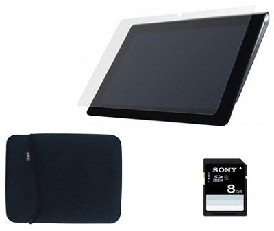 16 GB Tablet S with Wifi w 8GB SD, Case, LCD Covers