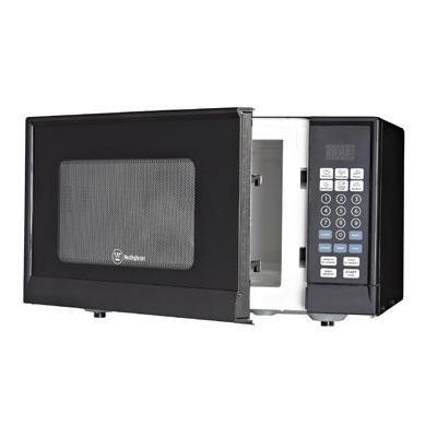 W 0.9 cu Ft Microwave Black