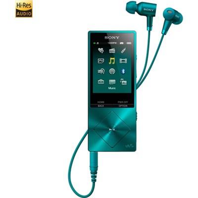 NWA26HN 32GB Hi-Res Walkman Music Player w/Noise Cancelation - Blue - OPEN BOX