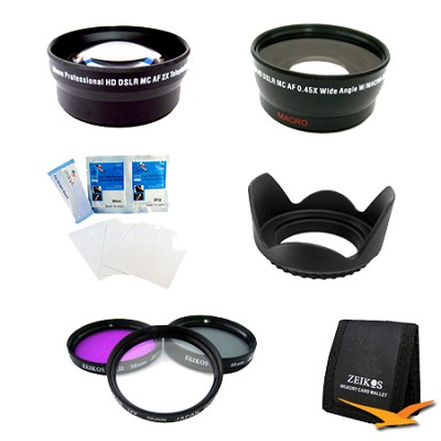 ULTIMATE 58MM WIDE ANGLE/TELEPHOTO LENS KIT