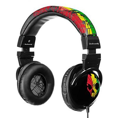Hesh Headphones S6HECZ-078 (Shattered Rasta)