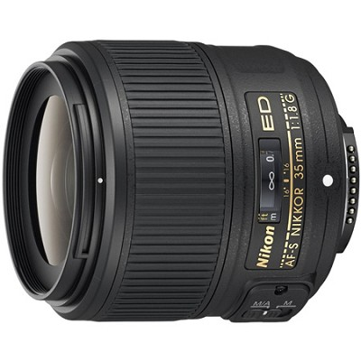 AF-S NIKKOR 35mm f/1.8G ED Lens - OPEN BOX