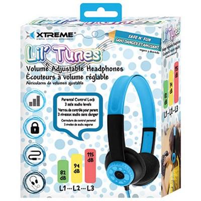 Lil' Tunes Volume Adjustable Kids Headphones - Blue