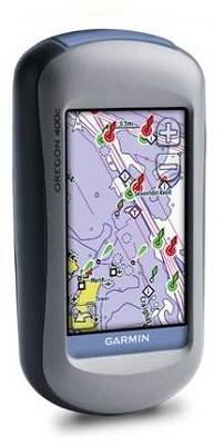 Oregon 400C High-Sensitivity GPS Receiver w/ US Coastal Charts