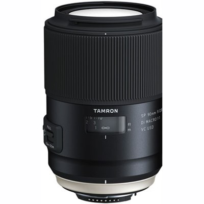 SP 90mm f/2.8 Di VC USD 1:1 Macro Lens for Nikon (F017)