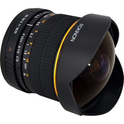 FE8M-S 8mm F3.5 Fisheye Lens for Sony Alpha (Black)