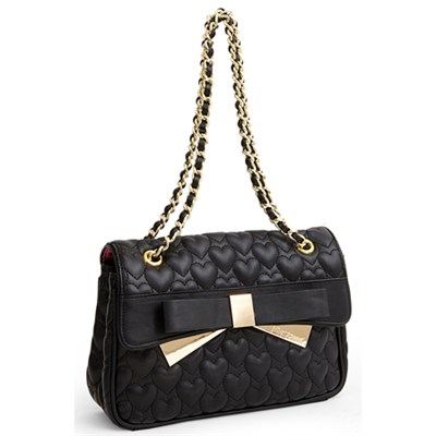 Be Mine Forever Satchel - Black