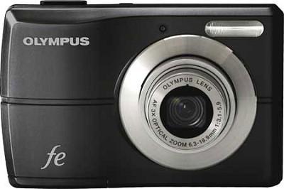 FE-26  12MP Digital Camera w/ 3x Optical Zoom, 2.5 inch LCD (Pearl Black)