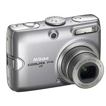 Coolpix P4 8MP Digital Camera