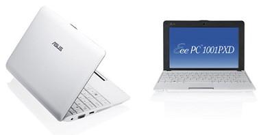 Eee PC 1001PXD-MU17-WT 10.1-Inch Netbook (White)