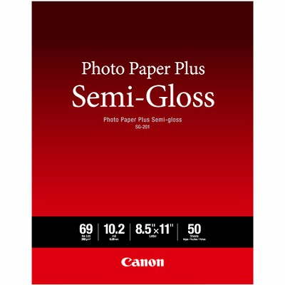 Photo Paper Plus Semi-Gloss Letter Size (50 Sheets) ( SG-201 LTR) (1686B063)