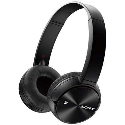 MDR-ZX330BT Wireless Bluetooth Headphones - Black - OPEN BOX