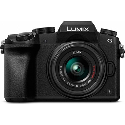 LUMIX G7 Interchangeable Lens 4K UHD Blk DSLM Camera w/14-42mm Lens - OPEN BOX