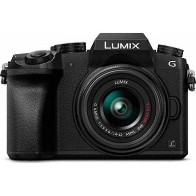 LUMIX G7 Interchangeable Lens 4K UHD Blk DSLM Camera w/14-42mm Lens - OPEN BOX