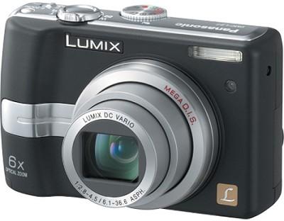 DMC-LZ7K (Black) Lumix 7.2 Megapixel Digital Camera w/6x Optical Zoom, 2.5` LCD