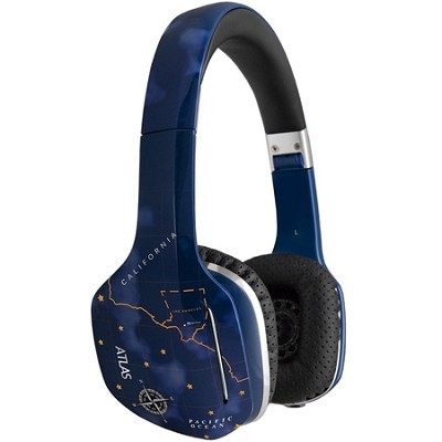 Atlas Sky IML Graphics On-Ear Headphones with Headset Functionality
