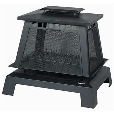 Trentino Deluxe Outdoor Fireplace ** AS IS, FINAL SALE NO, RETURN**