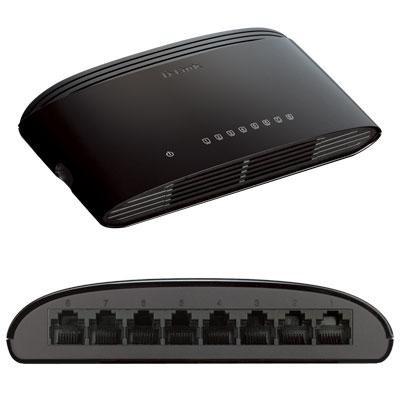 8-Port Gigabit Desktop Switch - DGS-1008G