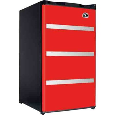 FR3229-RED 3.2 CU Ft Compact Fridge - Red