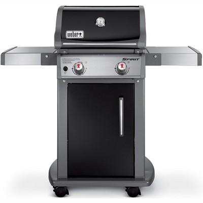Spirit E210 Liquid Propane Gas Grill - Black