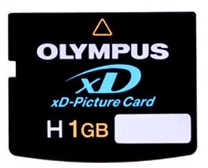 High-Speed H1GB xD Memory Card