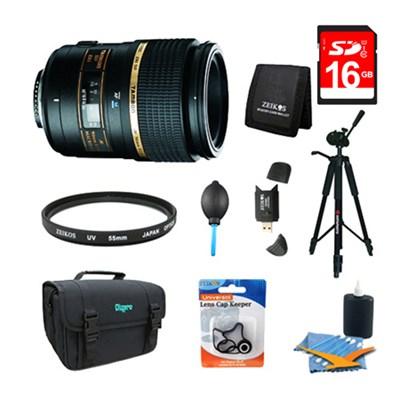 90mm F/2.8 DI SP AF Macro 1:1 Lens Pro Kit For Nikon