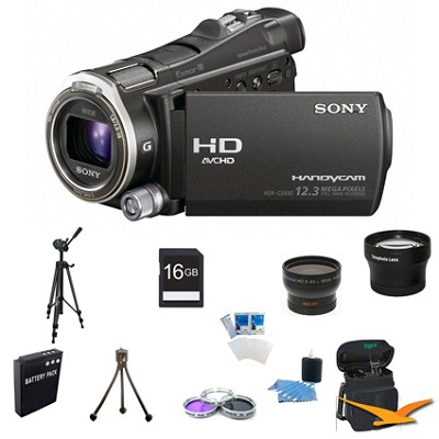 HDR-CX700V 96GB Flash Memory Handycam Full HD Camcorder Ultimate Bundle
