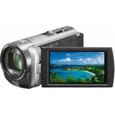 Handycam DCR-SX45 Palm-sized Silver Camcorder