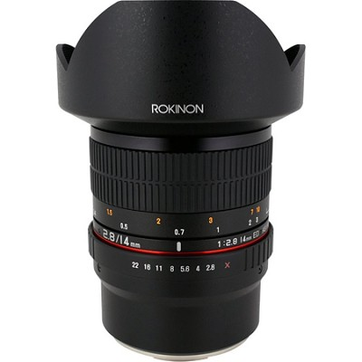 FE14M-FX 14mm f/2.8 IF ED MC Aspherical Super Wide Angle Lens/Fuji X - OPEN BOX