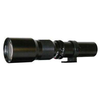 500mm f/8.0 Telephoto Lens For Nikon DSLR Cameras