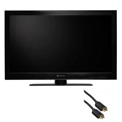 24 inch Class 1080p LED 60Hz HDTV Refurbished (ELEFC241N R) HDMI Bundle
