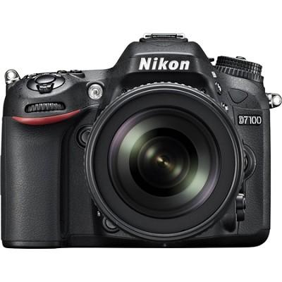 D7100 24.1 MP DX-Format DSLR Camera w/ 18-105mm lens