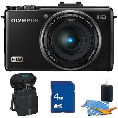 XZ-1 10MP f1.8 Lens Black Digital Camera 4GB Kit