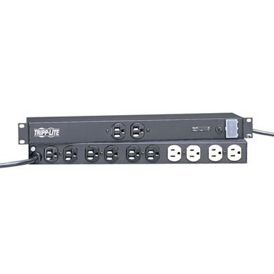 20A 12-Outlet Isobar Rackmount Surge Protector - IBAR12/20ULTRA
