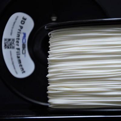 1.75mm PLA Plastic Filament 1 kg for 3D Printers (White) PLAWHT