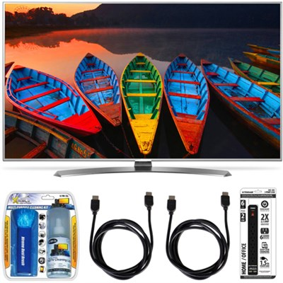 60UH7700 60-Inch Super UHD 4K Smart TV w/ webOS 3.0 Accessory Bundle