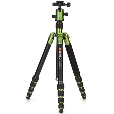 A1350Q1G Roadtrip Travel Tripod Kit - Green