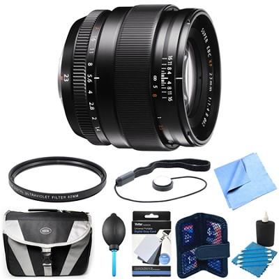 Fujinon XF 23mm (35mm) F1.4R X-Mount Lens Bundle