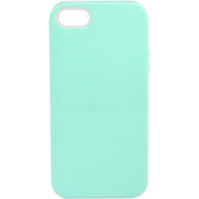Inlay Hybrid Case for iPhone 5 - Honeydew (Mint/Clear)