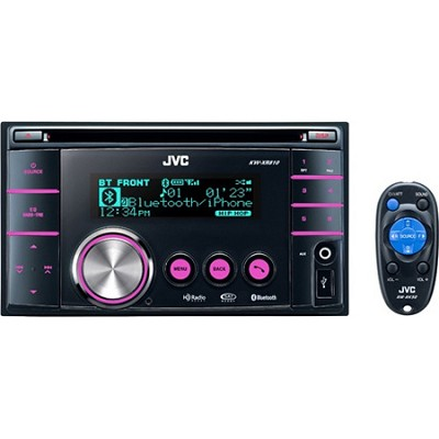 2-DIN Bluetooth Wireless Technology Dual USB/CD Receiver with Front AUX