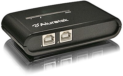 AUS0202 -2-Port USB 2.0 Auto Sharing Switch w/ 2 cables