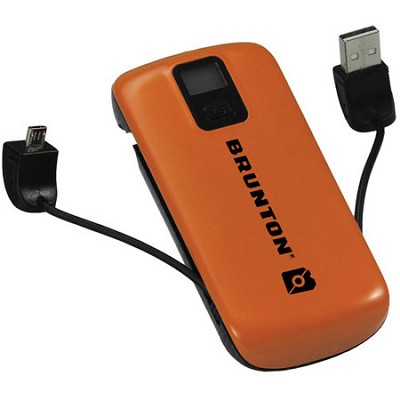 Metal 4400 mAh, 3x Charges (Orange) - F-METAL-OR