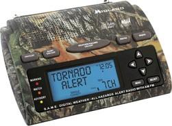 WR301 Deluxe Same Weather-Alert/All-Hazard Radio w/ AM/FM Radio