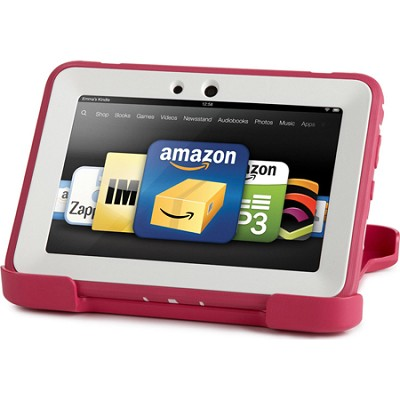 Amazon Kindle Fire HD Papaya Pink Defender Case