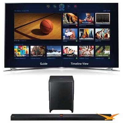UN65F8000 65 inch 1080p 240hz 3D Smart Wifi TV + HW-F850 Soundbar