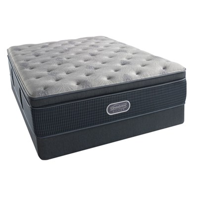 BeautyRest Recharge ~ Silver - Carter Bay Plush Mattress - Full