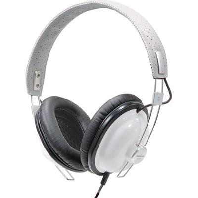 RP-HTX7-W1 Retro Style Monitor Headphones (White)