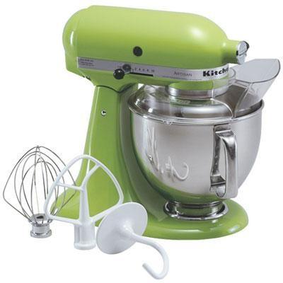 Artisan Series 5-Quart Tilt-Head Stand Mixer in Green Apple - KSM150PSGA